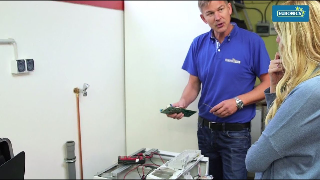 Euronics reparatur wäschetrockner trockner youtube