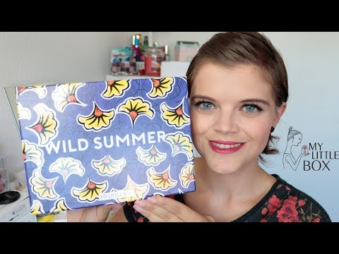 Unboxing   My little Box August 2017   Verlosung