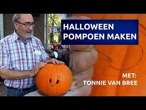 Hoe Maak Je Een Halloween Pompoen.Hoe Maak Je Een Halloween Pompoen Youtube