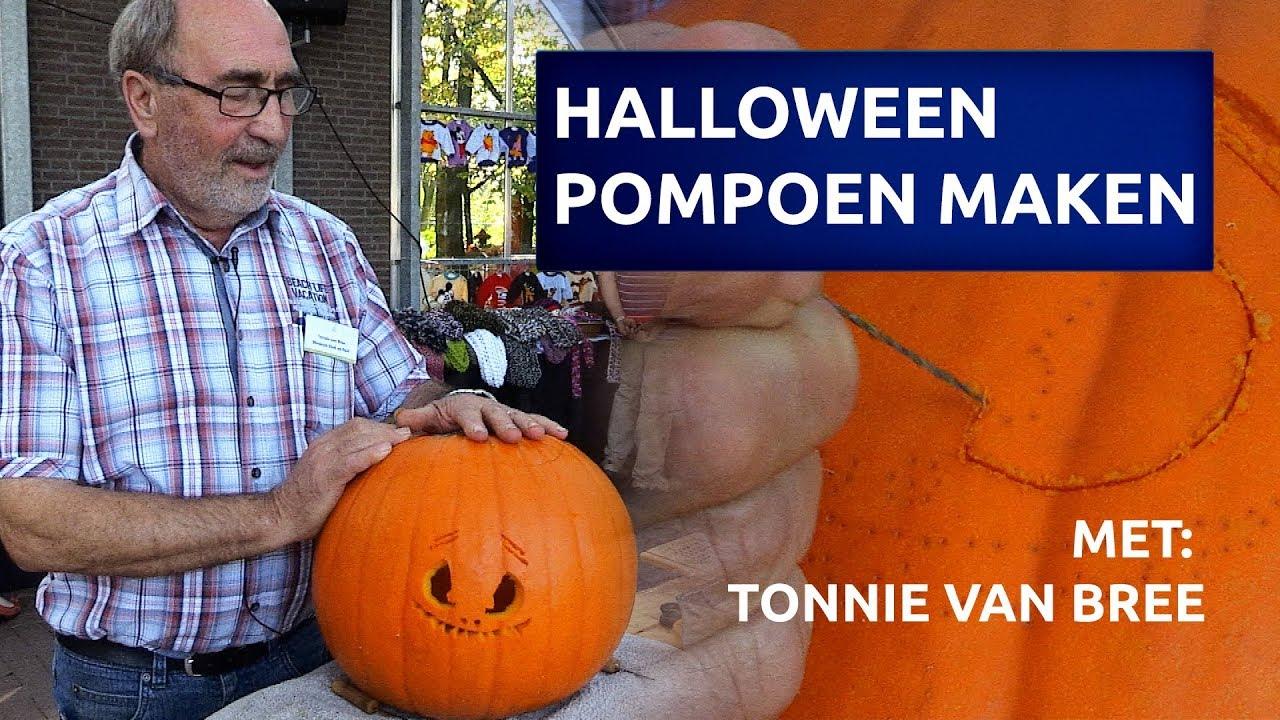 Hoe Maak Je Een Halloween Pompoen.Hoe Maak Je Een Halloween Pompoen