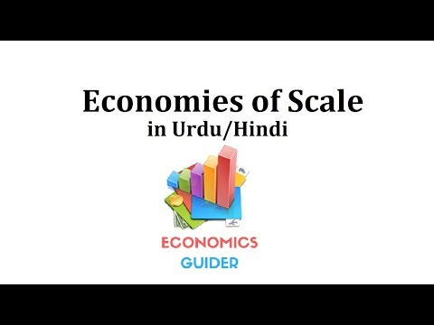 Economies of scale in urdu/hindi