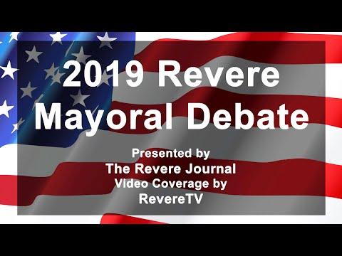 2019 Revere Mayoral Debate (10/24/19)