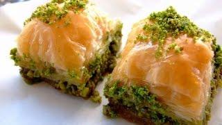 Сирийская пахлава Баклава Рецепты пахлавы(Пахлава (Баклава, Baklava) это восточный пирог с ореховой начинкой и сладким сиропом, который режется перед..., 2014-09-25T11:47:00.000Z)