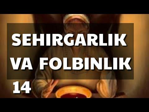 14- Sehirgarlik va folbinlik shirki\
