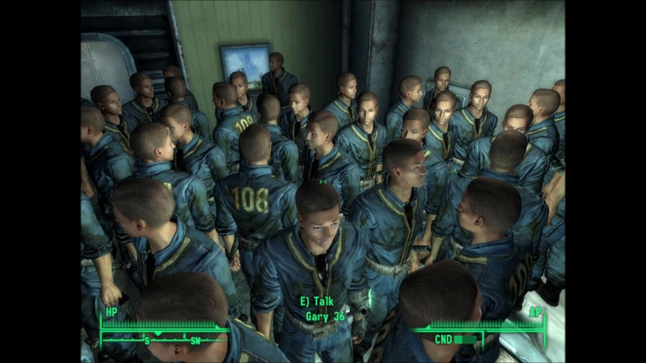 Fallout 4: Unused Gary Clone Voice Lines