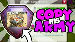 General Tony Army Can Get 3 Stars?? Clash Of Clans||Hindi/Urdu