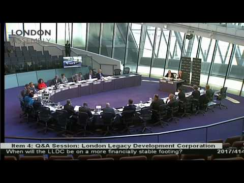 London Assembly Plenary meeting about the London Stadium