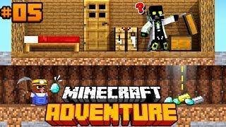 DER TUNNEL RAUB ÜBERFALL?! - Minecraft Adventure #05 [Deutsch/HD]