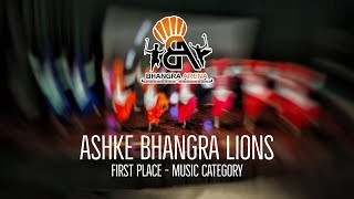 Ashke Bhangra Lions - First Place Music Category @ Bhangra Arena 2018 thumbnail