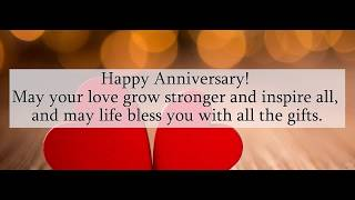 Wedding Anniversary Quotes & Wishes for Couples