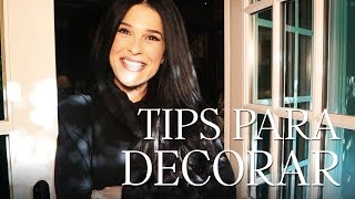 Tips para decorar | Martha Debayle