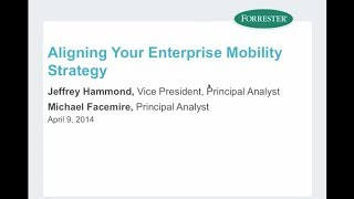 Aligning Your Enterprise Mobility Strategy
