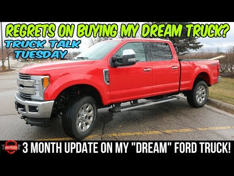 My Dream Truck - Was It Worth It? Any Regrets? 3 Month Update [Truck Talk Tuesday Episode 8]