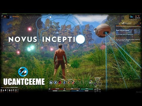 Novus Inceptio | Ep. 1 | An intriguing New Survival MMO Game Base Builder | First Look Early Access