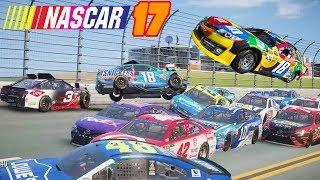 NASCAR'17 The Game Crash Compilation