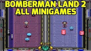 Bomberman Land 2 (GCN) - All Minigames