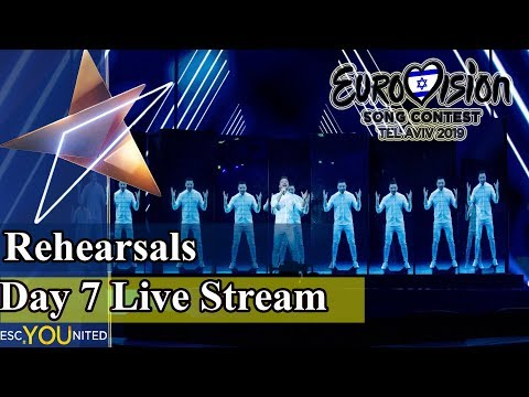 Eurovision 2019 Rehearsals - Day 7 Live Stream - (From Press Center)