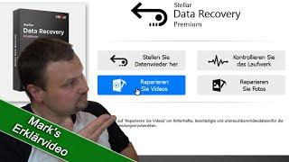 Digital Video Repair / Daten retten und Bilder wiederherstellen mit: Stellar Data Recovery Premium screenshot 5