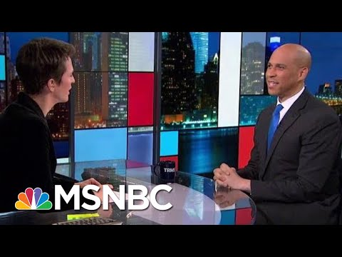Senator Cory Booker 'Looking To Women First' As Running Mate If Nominated | Rachel Maddow | MSNBC