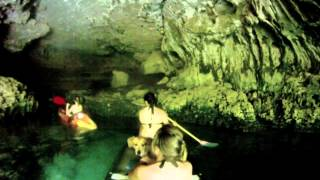 Float Trip into Cave Spring, Water from Devils Well