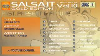 SALSA.IT VOL.10 GOLD EDITION:HABLAR DE TI,MASSIMO SCALICI