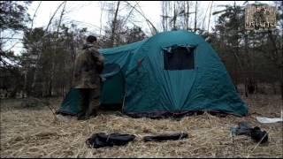 Обзор и установка палатки Tramp Anaconda