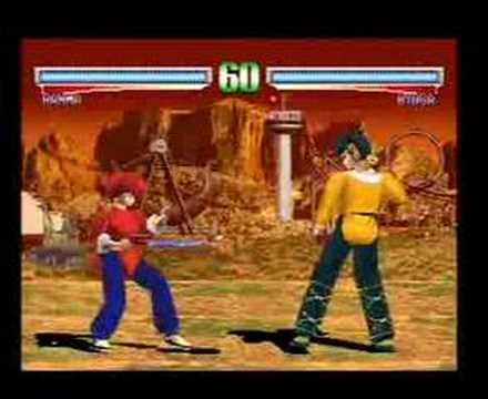 Playstation - Ranma 1/2 Battle Renaissance gameplay