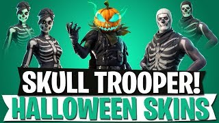 SKULL TROOPER WIEDER DA! | HALLOWEEN SKINS LEAK & DOUBLE QUAD LAUNCHER? | Fortnite Battle Royale