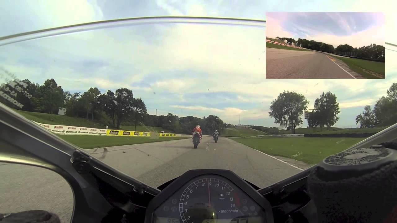 Road america track day sept 8 2014 intermediate group with motovid