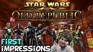 """Star Wars The Old Republic (SWTOR) First Impressions """"Is It Worth Playing?"""""""