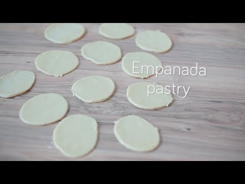 Empanada pastry - Homemade pastry for empanadas