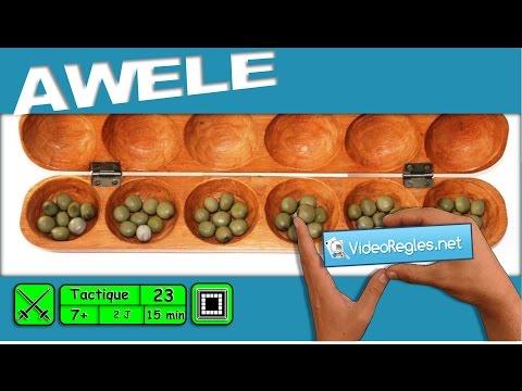 "La vidéorègle du jeu "" AWELE "" (ou Awalé) par Yahndrev (#23) thumbnail"