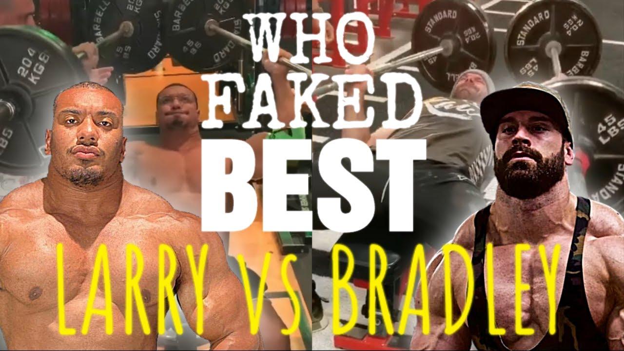 💪 Who FAKED IT BEST? 💪 Bradley Martyn vs Larry Wheels