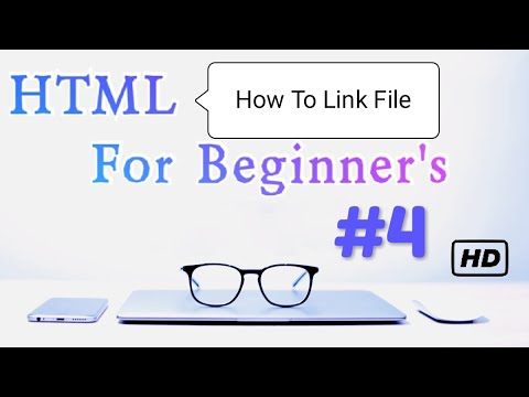 HTML Course | How To Link Another File Into Html File | #4