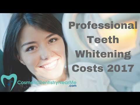 Professional Teeth Whitening Costs