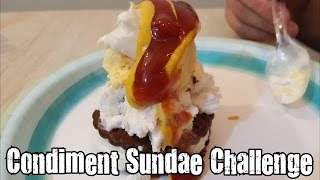 Condiment Sundae Challenge