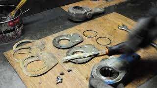 ремонт тормозной трещотки
