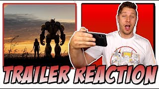 Bumblebee (2018) Trailer Reaction (Transformers Spin-Off)
