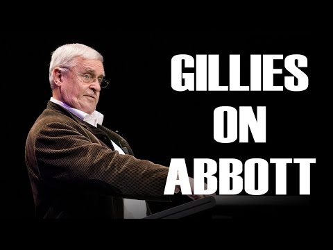 Max Gillies on Tony Abbott - Once Were Leaders