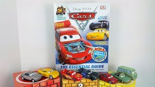 Lightning McQueen, Cruz Ramirez, Jackson Storm Read Along Part 2 Essential Guide Book Cars 3