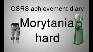 [OSRS] Morytania hard diary tasks guide