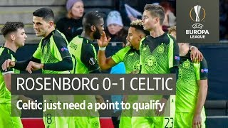 Rosenborg vs Celtic (0-1) | UEFA Europa League highlights