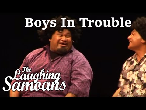 The Laughing Samoans - Boys In Trouble from Crack Me Off