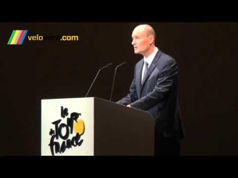 Discours Jean-Etienne Amaury à l'occasion de la présentation du Tour de France 2016