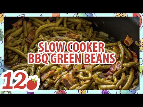 How To Make: Slow Cooker BBQ Green Beans Recipe