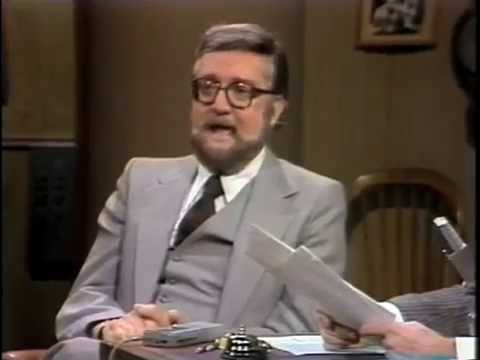 Steve Allen on Late Night, March 11, 1982