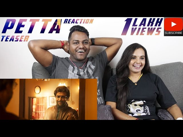 Petta Teaser Reaction | Malaysian Indian Couple | Superstar Rajinikanth | Anirudh