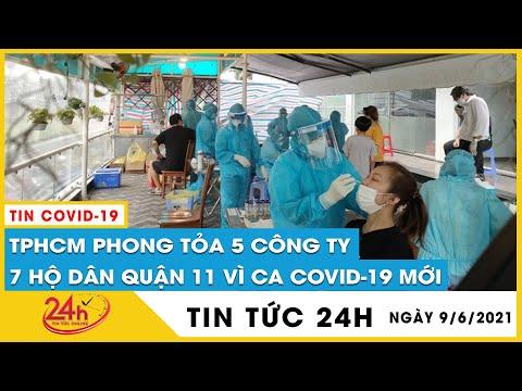 TP.HCM phong tỏa 5 công ty và 7 hộ dân ở quận 11 liên quan bệnh nhân COVID-19 mới khu Mả Lạng| TV24h