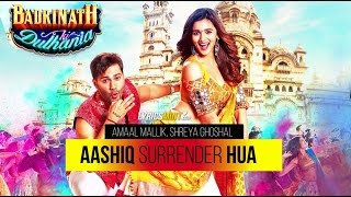 Aashiq Surrender Hua Karaoke with lyrics | Varun, Alia |Badrinath Ki Dulhania