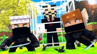 Minecraft HACKER - NINJAS vs HACKERS SPY BATTLE! (Minecraft Kids Roleplay)
